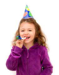 bambina ad una festa