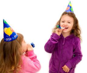 bambine ad una festa