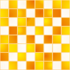 Carreaux_Jaune Blanc