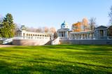 Colonnade - mausoleum of Yussupovs in Arkhangelskoe estate poster