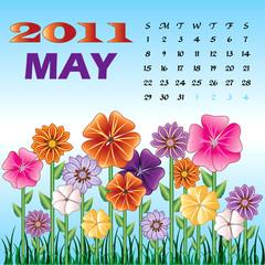 Spring May 2011 Flower Garden