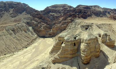 Qumran desert