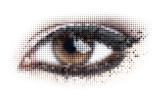 Fototapety dots eye