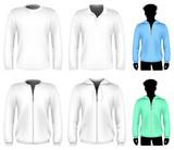 Vector t-shirt, polo shirt and sweatshirt design template.