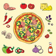 Colorful Pizza