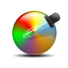 Icono seleccion color