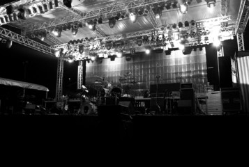 Stage In Lights - dark 2
