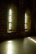Light streaming through two windows, Mont St Michel, Normandy, F