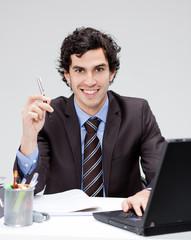 homme d'affaire bureau