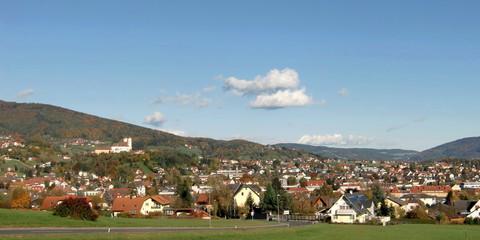 Bezirkshauptstadt Weiz / Steiermark / Österreich
