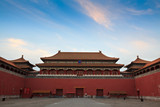 The Meridian Gate. Forbidden City in Beijing, China. poster