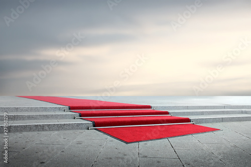 Aluminium Trappen Red carpet