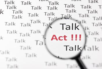 Reden - Handeln