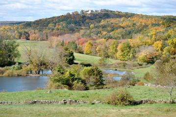 Autumn Country Scene