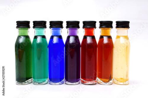 farbige kleine flaschen von kramografie lizenzfreies foto 27059291 auf. Black Bedroom Furniture Sets. Home Design Ideas