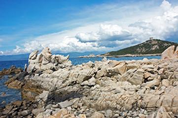 Côte rocheuse de Campomoro