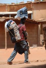 ambulante africano