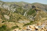Desert landscape in Northern Kurdistan, East Turkey poster