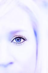 half face portrait