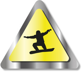 SNOWBOARD SIGN