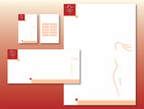Charte Graphique Corps Féminin - Papier et Carte Visite