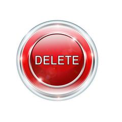 Button Rund Delete