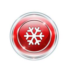 Button Schneeflocke