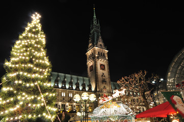 Christmas illuminations - Hamburg, Germany