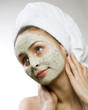 Spa Facial Clay Mask. Dayspa