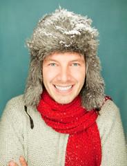 winter man portrait