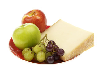 Beaufort Cheese with Fruit