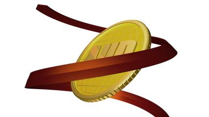 золотая монета валюта