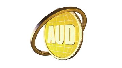 3d анимированный золотой фон