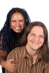 Multi race couple