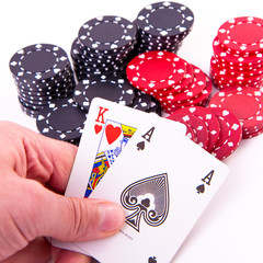 king of hearts and black jack