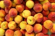 Peaches pattern texture fruit market background