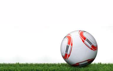 Bundesliga ball on grass