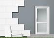Energieeffizenz graue Fassade