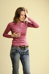 women having menstrual syndrome