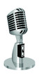 classic microphone vector illustration