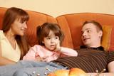 Family relaxing - Fine Art prints