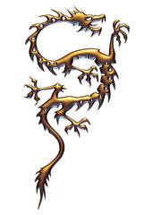 Dragon de bronze