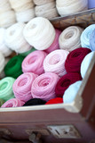mercerie couture textile fil boutique laine poster
