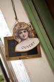 magasin ouvert brocante antiquités boutique commerce poster
