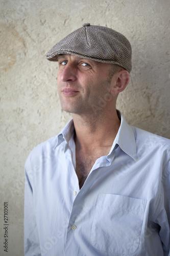 poster of jeune homme parisien casquette artiste garçon masculin