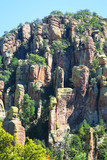 Rock Formations at Chiricahua National Monument poster