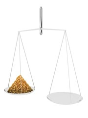Scales with granules