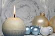 Weihnachtsdeko runder Hintergrund