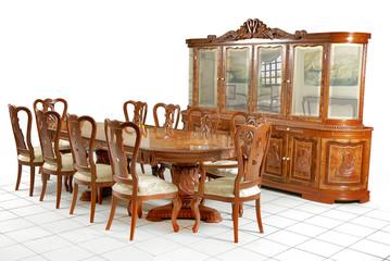 Mesa comedor clásico