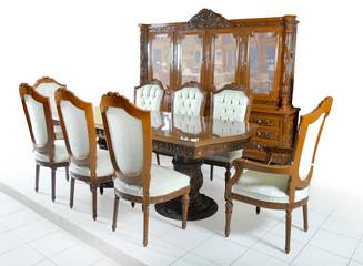 Mesa comedor Luis XV